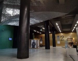 Hall CaixaForum Sevilla.